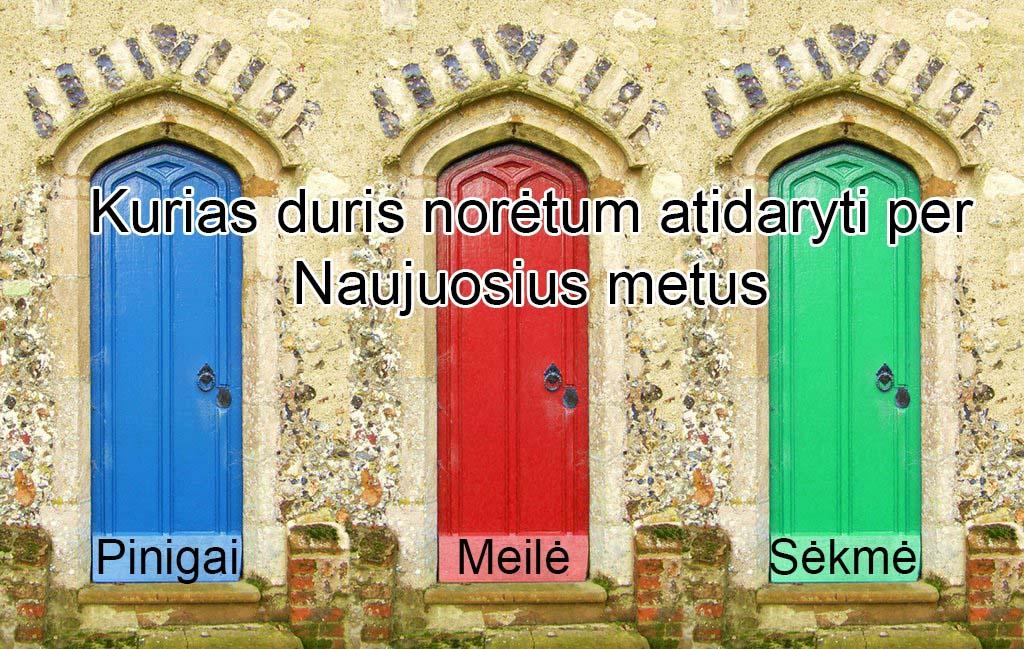 Durys: Pinigai, Meile, Sekme