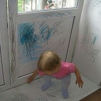 Mano mažylė bus tikra menininkė