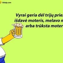 Kodėl vyrai geria
